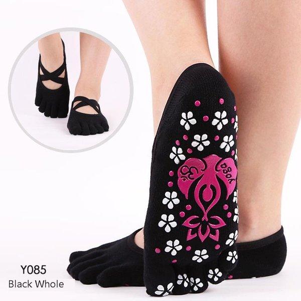 Chaussettes de yoga de marque professionnelle de haute qualité anti-glissement à séchage rapide et amortissement, chaussettes de ballet Pilates Good Grip Women Cotton