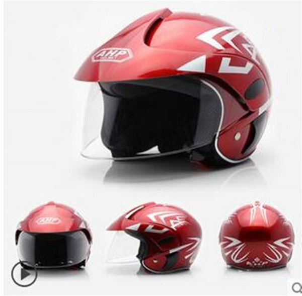 Kids Youth Offroad Gear Combo Helmet & Goggles DOT Motocross ATV Dirt Bike MX Motorcycle red Black for 2 to 9 old