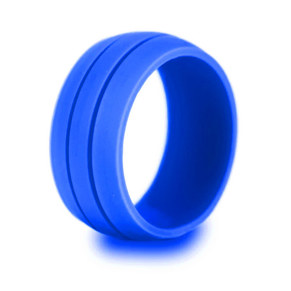 Free DHL Simple Silicone Rings Personality Wedding Bands Environmental Rubber Sports Ring Punk Jewelry Accessories 7 Colors Men Gifts H498F