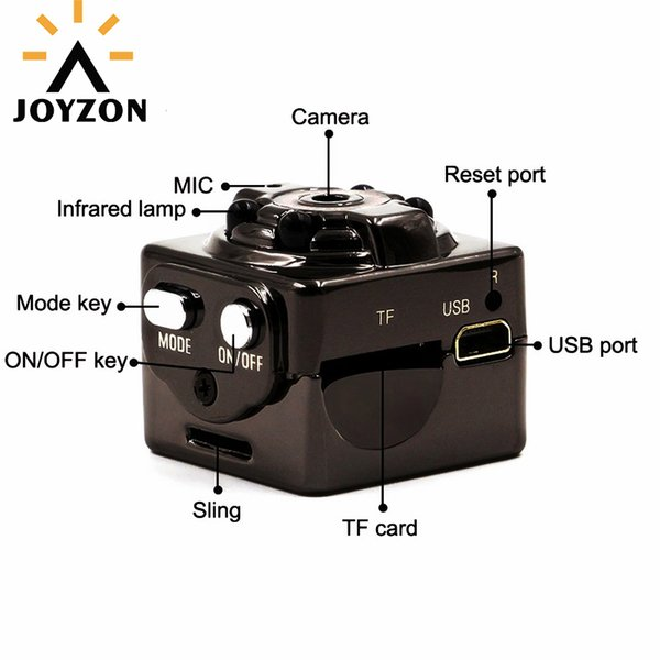 Hot Sale HD 1080P Mini Camera Infrared Night Vision Sport Micro Cam Motion Detection SQ8 Camcorder DV Video Voice Recorder