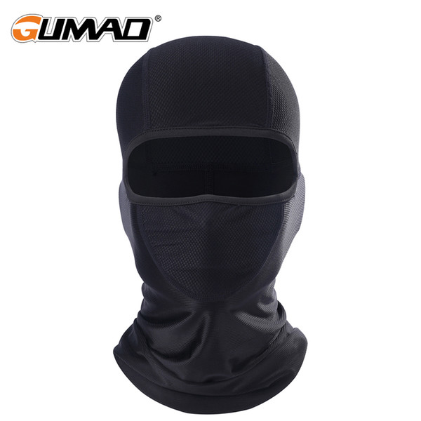Breathable Cycling Full Face Mask Bicycle Ski Bike Ride Snowboard Sport Helmet Liner Balaclava Neck Cover Tactical  Hat