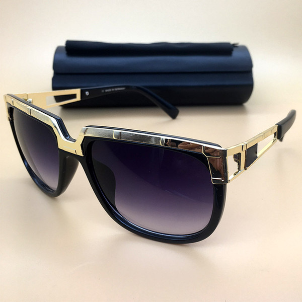 Brand designer Vintage Sunglasses Oval Frame 2018 New Mens Womens Polarized Glasses UV400 Famous Eyewear Luxury Retro Eyeglasses 8007