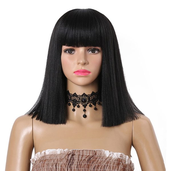 Best Quality Straight Lace Front Wigs Synthetic Lace Front Wig Heat Resistant Synthetic Swiss Lace Hair Wigs In Stock