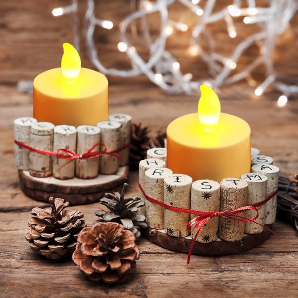 50pcs /Lot Flicker Tea Candles Light New Led Flameless Tealight Battery Operated For Wedding Birthday Party Christmas Decor