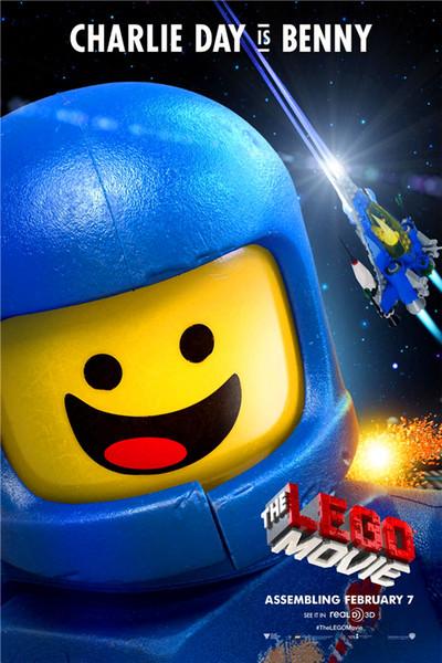 Lona feita sob encomenda Da Liga Da Justiça Adesivo de Parede Lego Papel De Parede DC Comics Poster Lego Filme Adesivos De Parede Benny Mural Home Decor # 2672 #