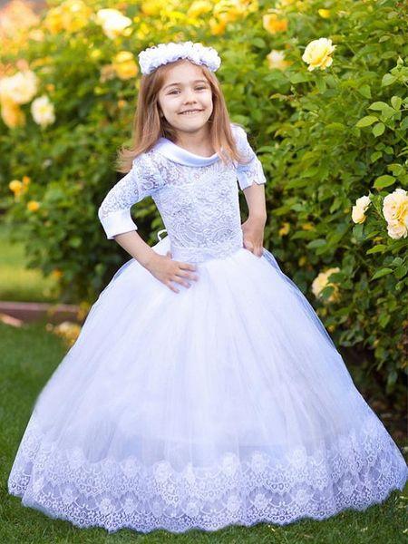 New Flower Girls Dazzling Jewels Rhinestones Short Dress Pageant Christmas Party
