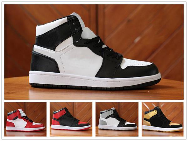 Männer UNC Schuhe Ente Basketball Air OG Sneakers Trainer Mandarin Sport Nike Aj1 1 Schuhe Top NEUE Großhandel Chicago Herren Jordan 1S Designer zMSVqGpU