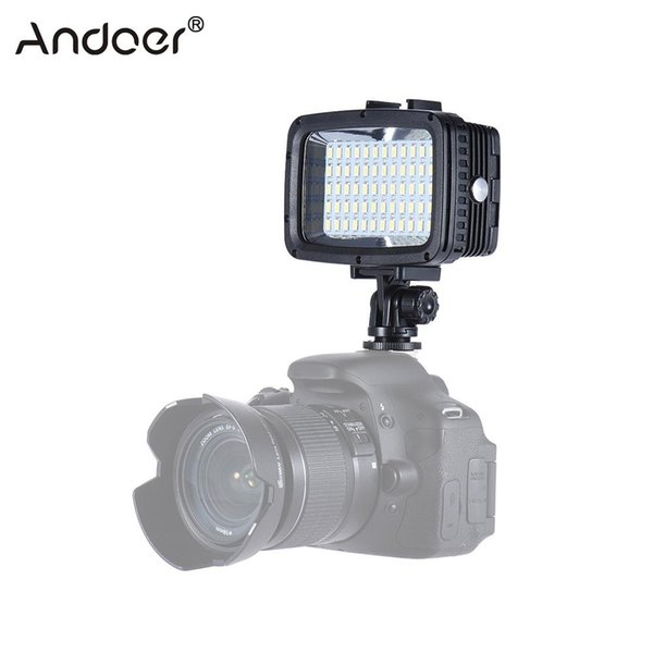 wholesale Ultra Bright 60pcs LED Video Light 1800LM 3 Modes Waterproof 5500K Fill-in Light Photo Lamp for GoPro Canon Nikon Sony