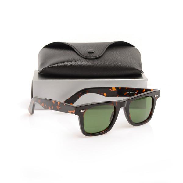Tortoise Frame Green Lens 50mm