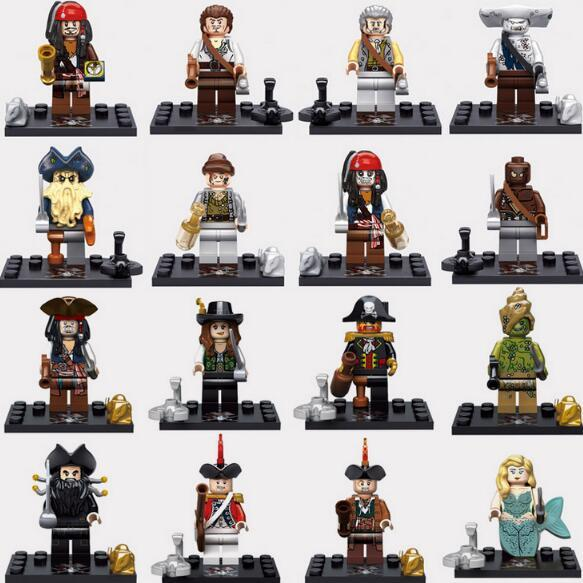 Spiderman Ironman Superman Building Blocks Altman Heros Minifig Bat man Rainbow Mini Figure Toys Minifig Smurfs witch Caribbean Pirates Jack
