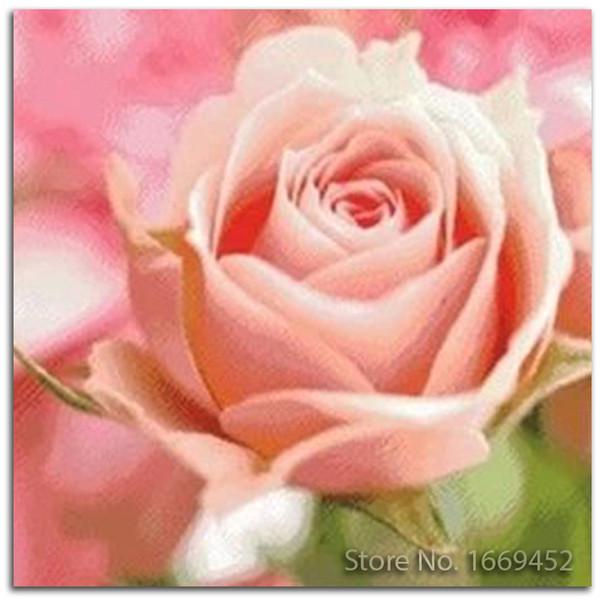diamant stickerei 3d blumen diamant malerei stickerei rosa rosen diy kit set für kreuzstich bild mit strasssteinen