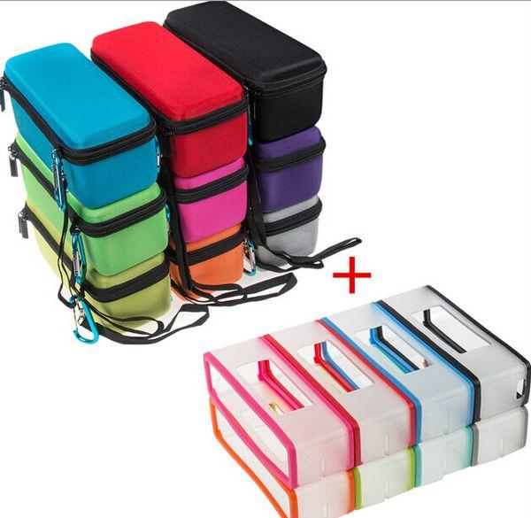 2 en 1 Bolsa / Funda para Bose Soundlink Mini 1/2 Altavoz Bluetooth Duro EVA Travel Carry Caja de almacenamiento + Funda de TPU de silicona suave