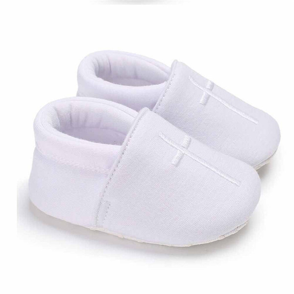 Newborn Baby Boys kids Toddler clothes Canvas casual Geometry Prewalkers Loafers Soft Soled Shoes one pieces