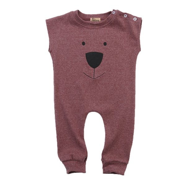 Infant Toddler Newborn Baby Kids Girl Boy Unisex Clothes Casual Bear Romper Jumpsuit Playsuit Outfits