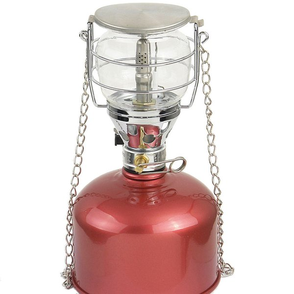 Multifunction Camping Lamp 100LUX Gas Light Outdoor Portable Emergency Camping Lanterns Tent Lamp Torch Hanging Glass