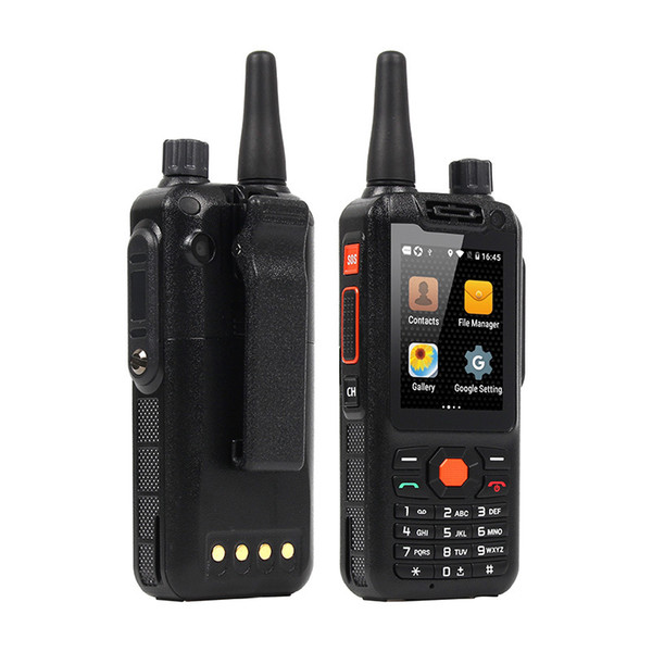 best selling F25 Phone 2.4 Inch Display 4G LTE phone Quad Core Zello Android Walkie Talkie PTT SmartPhones 1G RAM 8GB Mobile Phone Free post tnt