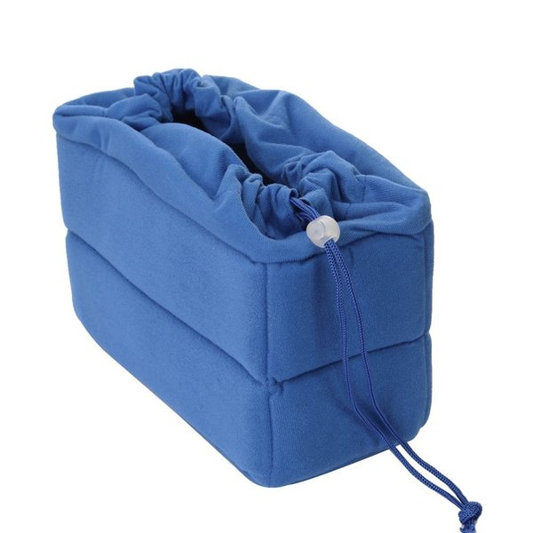 Professional NEW Shockproof DSLR SLR Camera Bag Partition Padded Camera Insert, Make Your Own Bag(Blue)
