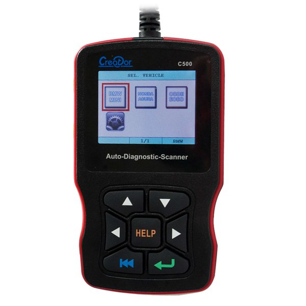 Newest Creator C500 Code Readers & Scan Tools Vehicle Tools Auto Diagnostic Scanner for OBDII / EOBD / BMW/ Honda/ Acura wholes