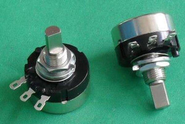 RV24YN20F B102 B202 B502 B103 B503 B104 B504 RV24YN 2W Half Shaft Game Machine Rotary Carbon Film Potentiometer x 10PCS