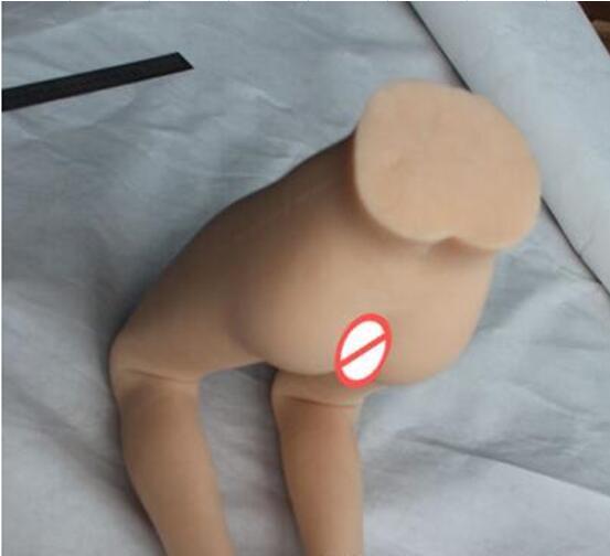 love dolls for sex.70cm Sex Dolls Realistic Skeleton Leg Model Foot Fetish Vagina Anus Love Model sex products sale free shipping