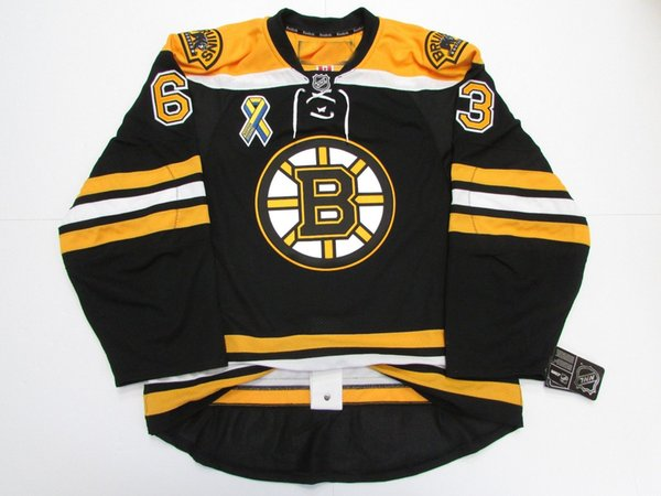 Cheap custom MARCHAND BOSTON BRUINS HOME BOSTON STRONG EDGE 2.0 7287 JERSEY stitch add any number any name Mens Hockey Jersey XS-5XL