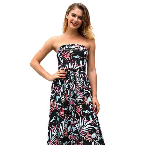 Las mujeres delgadas impresas sexy primer amor dress palabra envuelto pecho vestidos vestidos faldas vestidos2019 nuevo verano tallas grandes ropa mujer