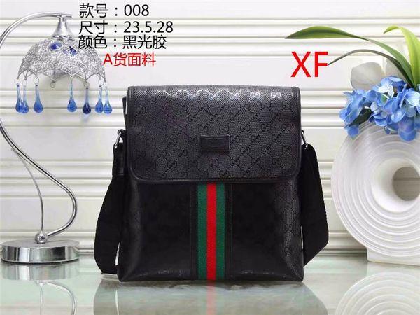 2019 free mailing Men's new shoulder bag new designer handbag shoulder bag new fashion pu leather pu handbag purse free shipping