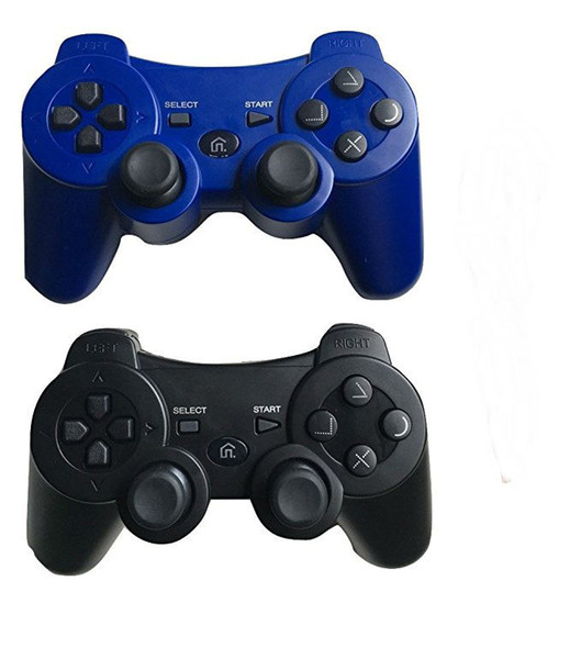 best selling dosly game controller for PS3 wireless bluetooth controller(black and blue color)