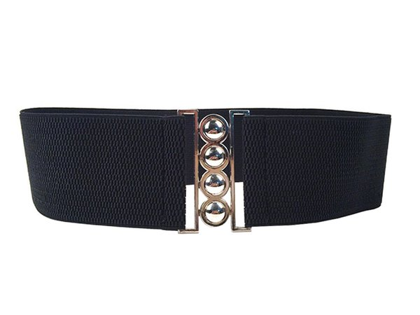 20PCS / LOT SINGYOU Fashion Belt for Women Luxury Designer Metal Elastic Strtchy Waist Belt Corset Wide Belt Female Cummerbunds