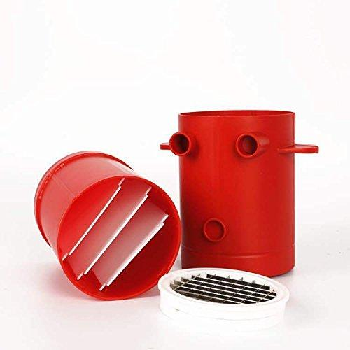Jiffy Potatoes Fries Maker Potato Slicers French Fries Maker French Fries Cutter Machine & Microwave Container