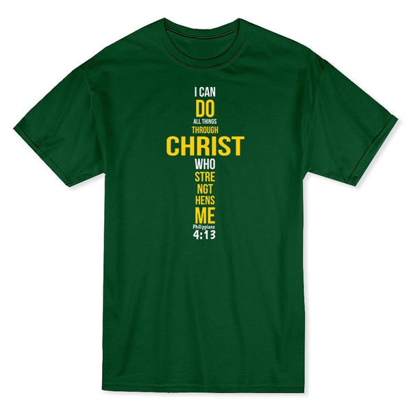 I Can Do All Things Through CHRIST Who Strengthens Me Men's T-shirt