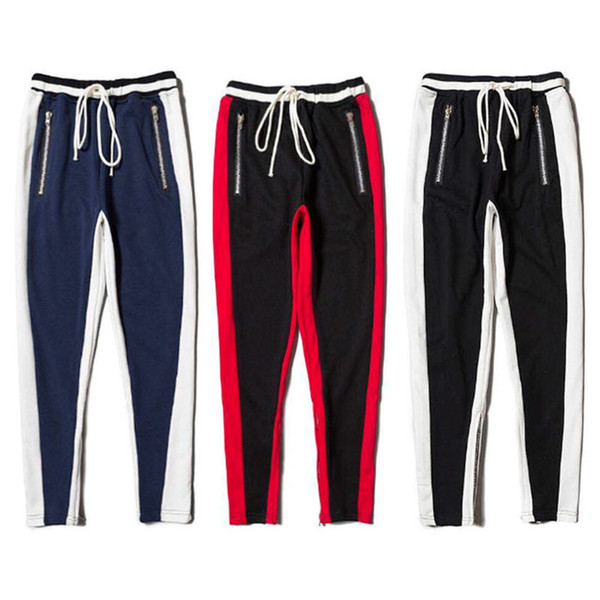 629098d28c337 Justin Bieber 1a 1 High Quality Fear Of God Sweatpants Women Men Fashion  Casual Drawstring Tracksuit Joggers Sweat Pants FOG