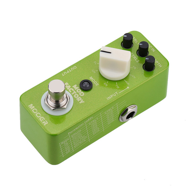 Mooer Mod Factory Micro Mini Electric Guitar Modulation Effect Pedal True Bypass
