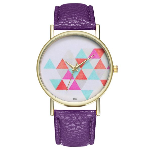 Woman Famous Brand Watch 2018 Special Fashion Leather Analog Quartz Watches woman top selling Round Wrist zegarki damskie