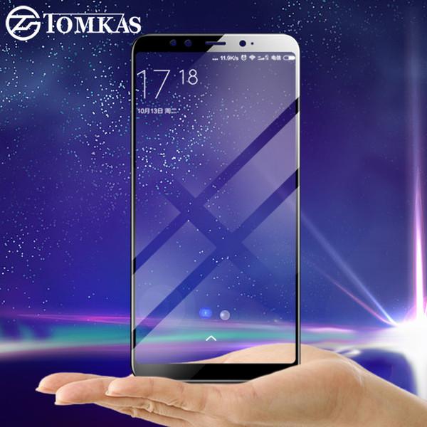 TOMKAS Glas Für Xiaomi Mi A2 6X Displayschutzfolie Gehärtet Einfach zu installierende Folie Für Xiaomi Redmi S2 Mi Mix 2S Gehärtetes Glas