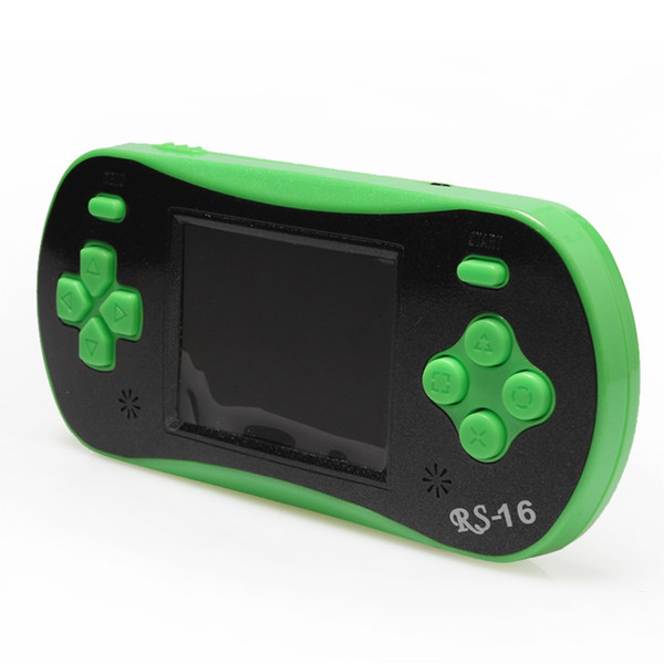 2.5Inch 16 Bit Game Console LCD Screen Color Display 260 Classic Games Portable Children's Handheld Game Player