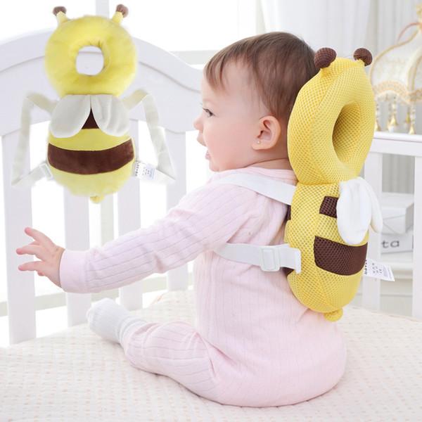Cuscino di protezione della testa del bambino Cuscino del poggiacapo del bambino Cuscino del neonato cuscino di resistenza di goccia di cura del bambino