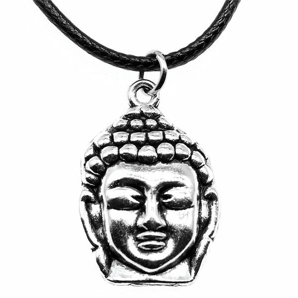 collier ras de cou bouddha