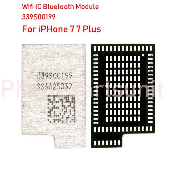 5 adet / grup Orijinal Yeni 339S00199 Wifi IC Modülü iPhone 7 7G 7 P 7 artı WLAN_RF 339S00201 WiFi / Bluetooth Yüksek sıcaklık Tipi Onarım Parçaları