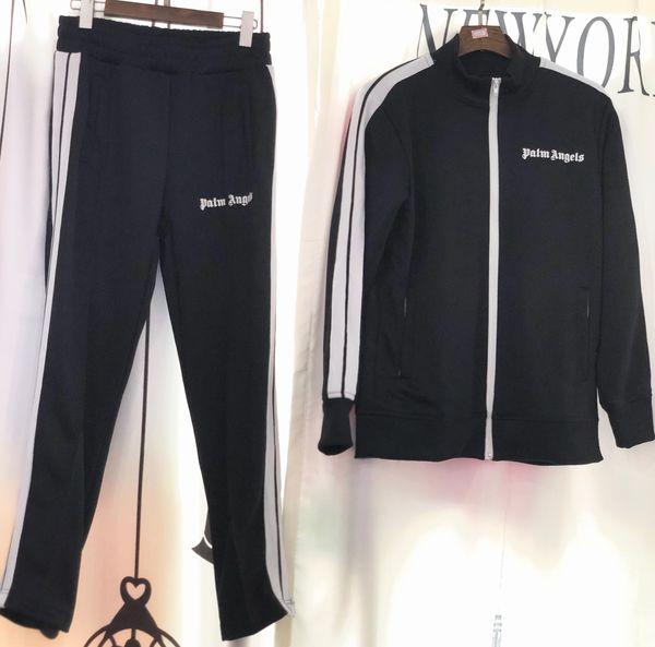 2018 Yeni Palmiye Melekler ceket Kadın Erkek Yüksek Kalite Sonbahar Kış Streetwear Casaul Palmiye Melekler PA gökkuşağı Özel İpli ceket S-XL