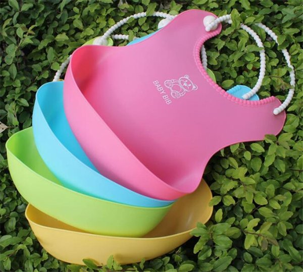 Baby Infants Kids Cute Bibs Lunch Bibs Newborn Children Waterproof Towel Washable Feeding Silicone Burp Y273