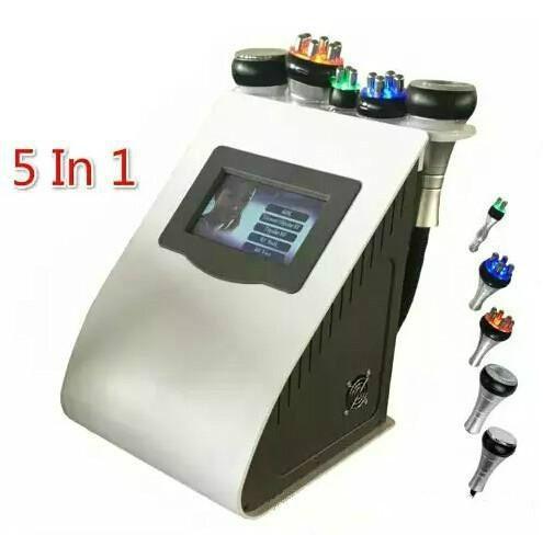 5 en 1 nouvelle cavitation ultrasonique de liposuccion 40K amincissant la machine bipolaire tripolaire à six pôles rf du vide rf