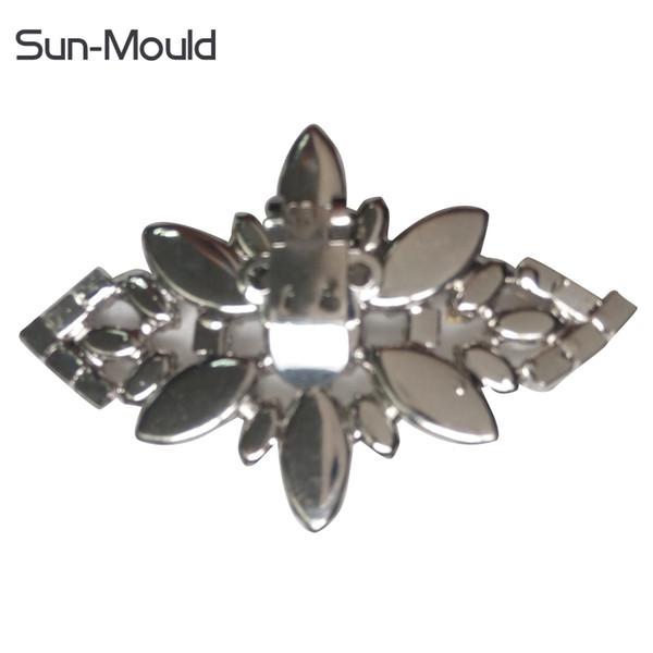 s accessories shoes clips decorative shop accessories shoe clip crystal rhinestones charm metal material wedding shoe flowers decoration