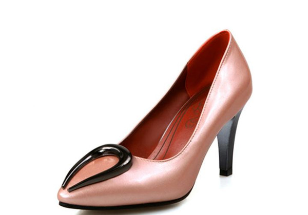 Free send Hot big size 44 45 46 47 48 yards of high heel pointed end women shoes