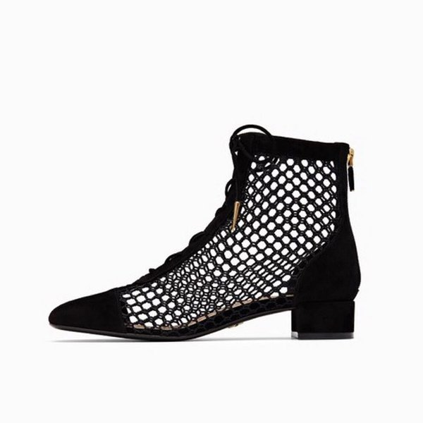 Fashion punk style runway motorcycle boots ladies round head new metal buckle rivet leather summer women's boots anklebootsFemal
