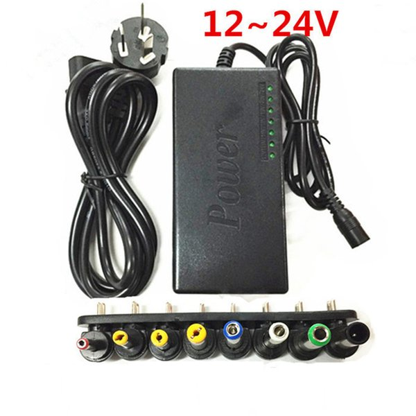 El más nuevo Universal 96W 4.0A DC Laptop Notebook AC-DC Cargador Adaptador de corriente 12V / 16V / 20V / 24V con Enchufe US AU EU Enchufe del Reino Unido