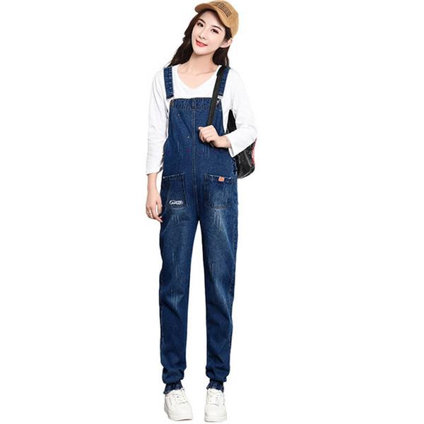 Womens Casual Denim Pregnant Adjustable Strap Bib Pant Dungarees Overalls Shorts