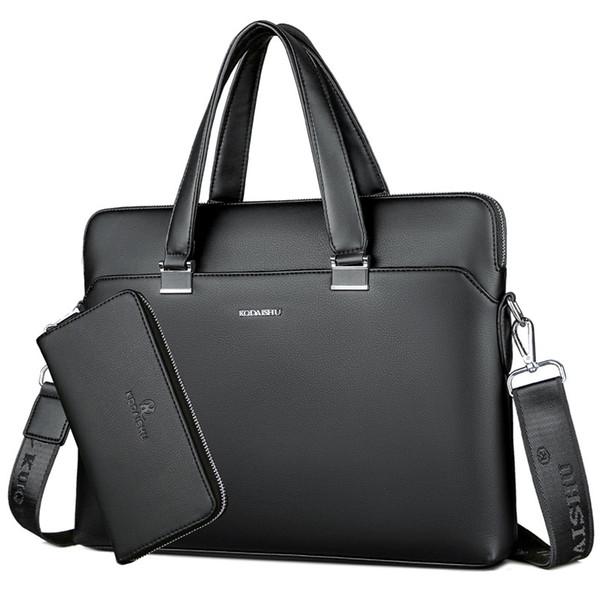 BERAGHINI Homens de Negócios Maleta Saco de Couro PU Designer De Luxo Bolsa Para Laptop Escritório de Grande Capacidade Pasta Malas de Ombro Masculino