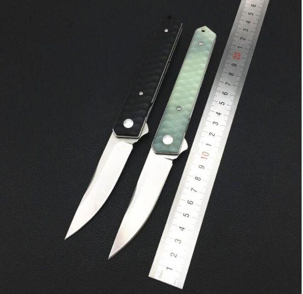 4 colores boker IKBS 8CR13MOV cuchillo plegable stonewash camping Caza Cuchillo de bolsillo plegable Cuchillo de supervivencia Regalo de Navidad 1pcs cu