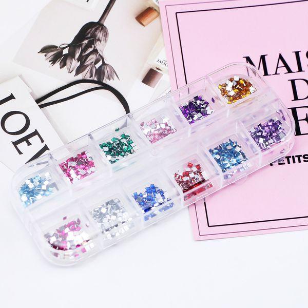 3D Jewelry Metal Feather Charm Pendant Diamond Nail Decoration Set Shimmer Acrylic Rhinestones Nail DIY Decoration For Art